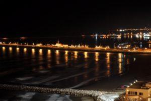 Mar del Plata de noche