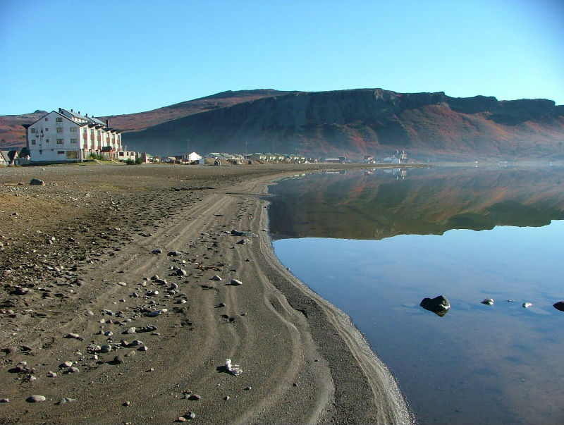Playas lacustres en Neuquén