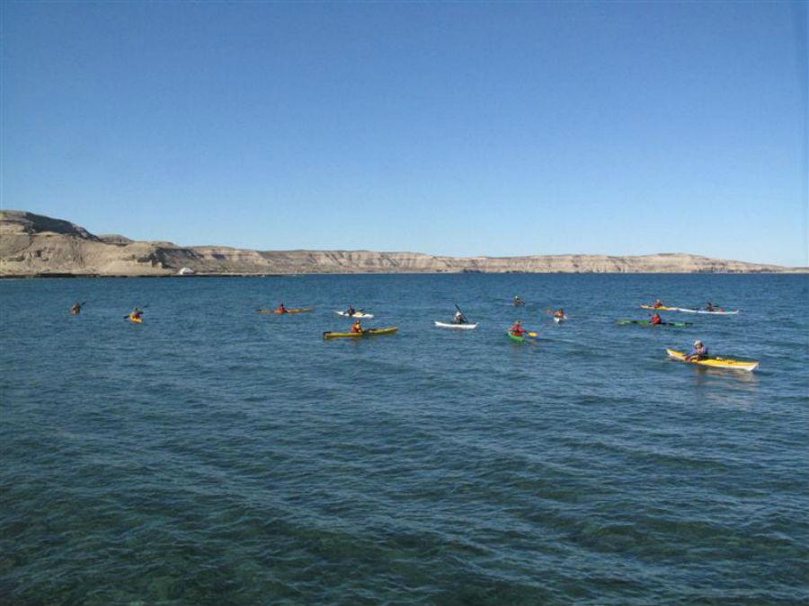 Deportes náuticos en Puerto Madryn
