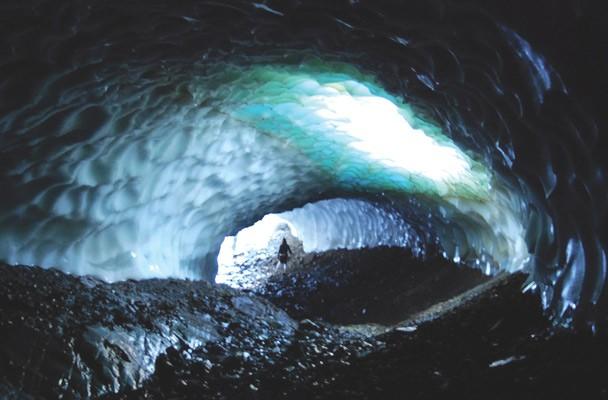 Túneles de Hielo, maravilla natural en Esquel