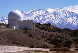 Observación astronómica en Barreal