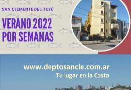 Cabaña Deptosancle - San Clemente del Tuyú